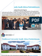 Northwest University South Africa Potchefstroom.