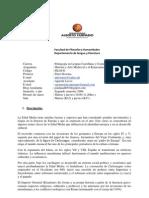 Programa Del Curso Historia y Arte Medieval y Renacentista UAH 2009