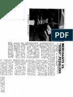 Peddler Article