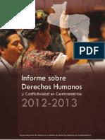 Informe Regional de Derechos Humanos 2012-2013