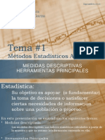 Tema 1 Medidas Descriptivas