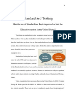 standardized testing issue exploration