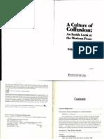 Orme, William, Et Al - A Culture of Collusion