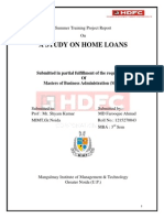 A Study on Home Loans Hdfc Bank