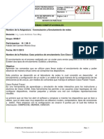 Reporte de Practica de Enrutamiento Curiel