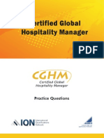 Cghm Practice Question