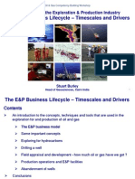 3 E&P Business Lifecycle