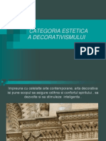 prezentare decorativism