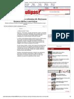 03-12-2013 'Gracias Al Predial Las Colonias de Reynosa Tienen Obras y Servicios'