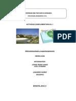 Taller 1 Hidrologia JORGE RIAÑO D7302002