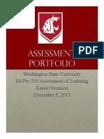 Swenson Assessment Portfolio
