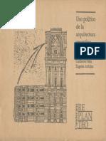Uso Politico de La Arquitectura Argentina Guillermo Tella y Eugenia Arduino