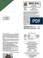 SPAT News Letter  Sept 2013