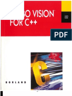 Borland Turbo Vision for C++ User's Guide