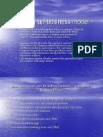 Building Up Business Model