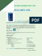 Anit Malaria Oil