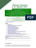 The Enternal Covanant & Eternal Life