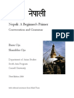 42.Nepali a Beginner's Primer Conversation and Grammar