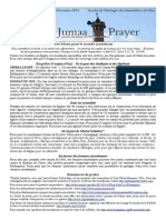 Bulletin de Jumaa Prayer 6 Décembre 2013.pdf