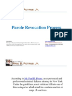 Parole Revocation Process