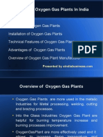 Oxygen Gas Plants Manufacturer in India.