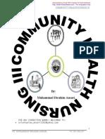 Community Health Nursing 3 (Ansari Notes)