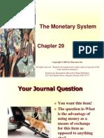Chap 29MonetarySystem