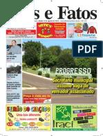 Jornal Atos e Fatos Ed. 637 - 22-08-2009