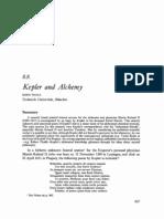 Kepler and Alchemy