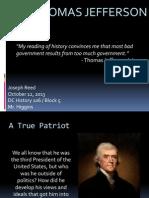Thomas Jefferson Biography