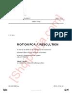 Rezoluta e PE për progresin në Shqipëri