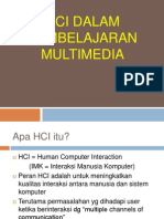 HCI in Multimedia Learning 2012