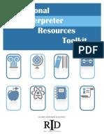 Educational Interpreting ToolKit(1)