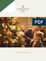 Corinthia Hotel Budapest  Festive Season