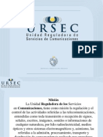 Presentacion URSEC Uruguay