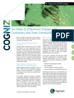 Six Steps to Effectively Engage With Customers and Their Communities