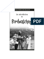 Birds Intro to Watching