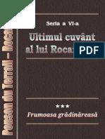 Ponson Du Terrail - Rocambole 6 - Ultimul Cuvant Al Lui Rocambole 3 - Frumoasa Gradinareasa