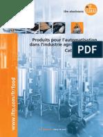 Ifm Produits pour l'automatisation dans l'industrie agroalimentaire France 2013-2014