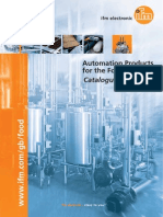 Ifm Automation Products for the Food Industry English 2013-2014