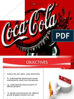 Coca Cola Strategy Formulation