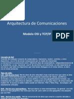 Arquitectura de Comunicaciones OSI - TCP.ip