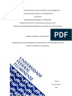 A Preservação da Informação Arquivística Governamental nas Políticas Públicas do Brasil - Sérgio Conde de Albite Silva - Cópia