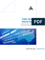 ANAO Public Sector Internal Audit