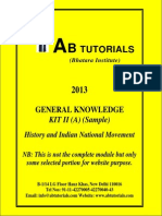 Gk for law exams - History and Indian National Movement