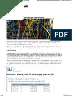 Como testar se o seu ISP é Regulagem sua conexão Internet.pdf