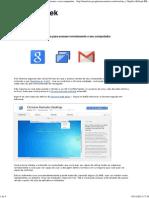 Como usar o Google Chrome para acessar remotamente o seu computador.pdf