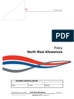 CPS POL 0037 North West Allowances