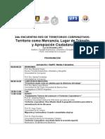 DIFUSIÓN - PROGRAMA II ENCUENTRO RedTC- 2013