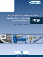 Guidelines for Surface Protections Over Welding